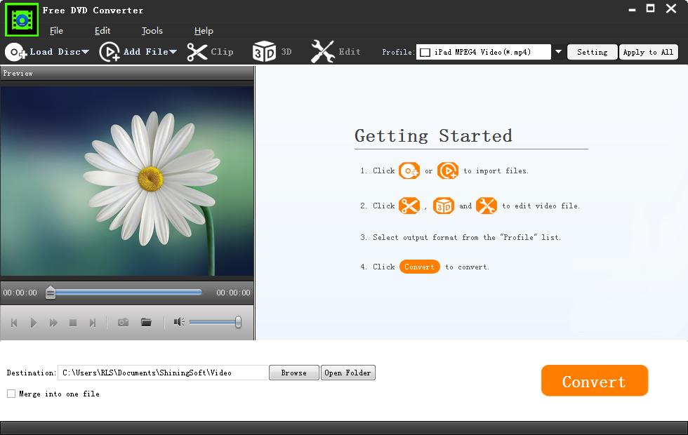 Free DVD Converter screenshot