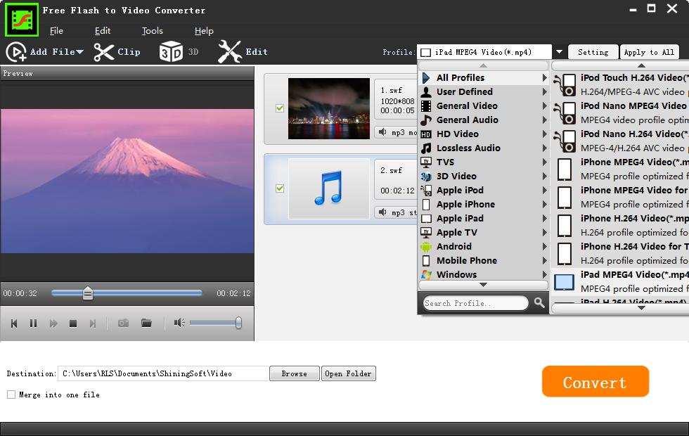 Free Flash ( swf) to Video Converter Full Version Free Download